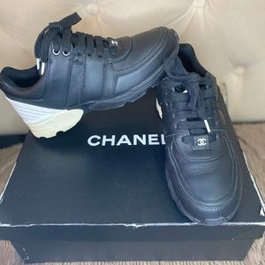 AUTHENTIC Used Chanel Sneakers